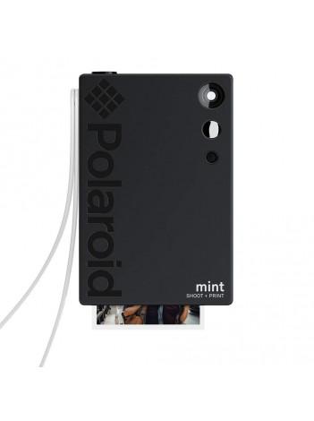 Camera Foto Instant si Imprimanta Polaroid Mint, cu Hartie Zink 2x3 inch, 16Mp, Negru